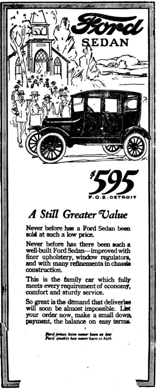 siacc - auto-biography - 1920 model t centerdoor